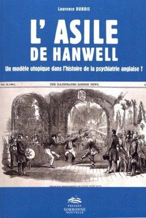 L'asile de Hanwell - publications de la sorbonne - 9782878549256