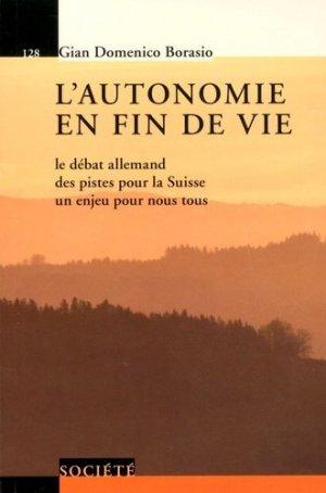 L'autonomie en fin de vie - presses polytechniques et universitaires romandes - 9782889152223 -