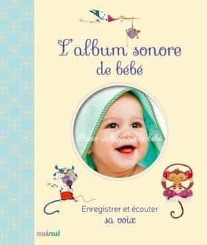 L'album sonore de bébé - nuinui - 9782889355532 -