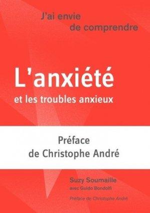 L'anxiété et les troubles anxieux - le moniteur des pharmacies - 9782889410118 -