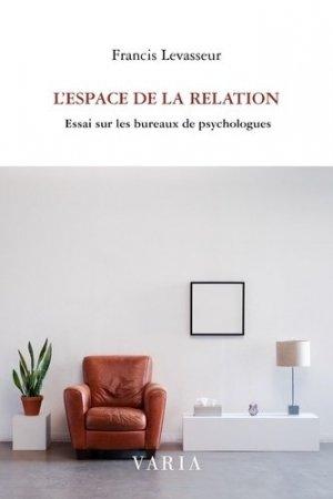 L'espace de la relation - varia - 9782896061532 -