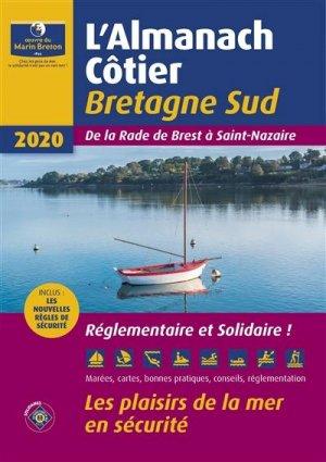L'almanach côtier Bretagne Sud 2020 - oeuvres du marin breton - 9782902855643 -