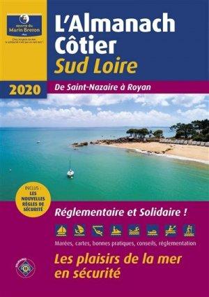 L'almanach côtier Sud Loire 2020 - oeuvres du marin breton - 9782902855650 -