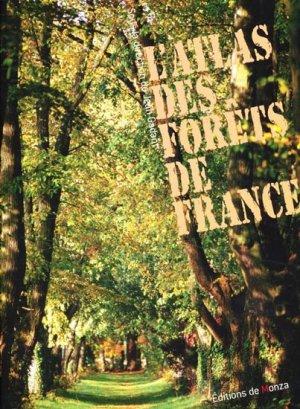 L'atlas des forêts de France - de monza - 9782908071917 -
