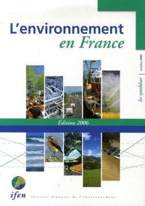 L'environnement en France - la documentation francaise - 9782911089824 -