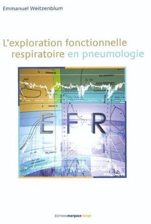 L'exploration fonctionnelle respiratoire en pneumologie - margaux orange - 9782914206129 -