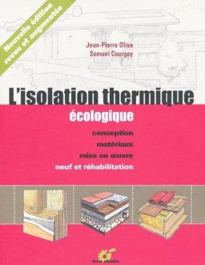 L'isolation thermique écologique - terre vivante - 9782914717885 -