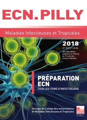L'ECN PILLY - Maladies Infectieuses et Tropicales pilly 2018 - cmit alinea plus - 9782916641676 -