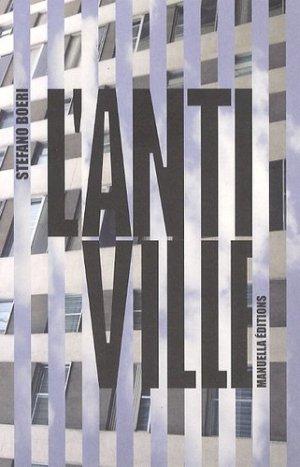 L'antiville - manuella - 9782917217405 - majbook ème édition, majbook 1ère édition, livre ecn major, livre ecn, fiche ecn
