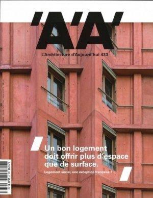 L'architecture d'aujourd'hui N° 433, octobre 2019 : Logement social, une exception française ? - Archipress editions - 9782918832904 -