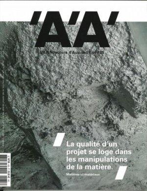 L'architecture d'aujourd'hui N° 435, avril 2020 - Archipress editions - 9782918832942 -