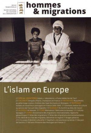 L'islam en Europe - Cité Nationale de l'Histoire de l'Immigration - 9782919040377 -