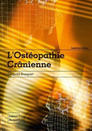 L'ostéopathie crânienne - busquet - 9782952153959 -
