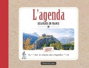 L'agenda escapades en France - Minuit la Lune - 9782954484938 -