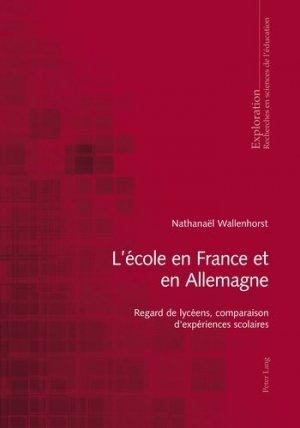L'école en France et en Allemagne - Peter Lang - 9783034312561 -