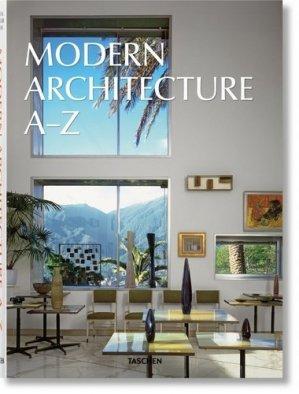 L'Architecture moderne A-Z - Taschen - 9783836583183 -