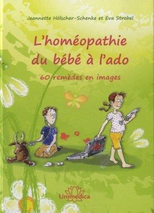L'homéopathie du bébé à  l'ado - unimedica - 9783944125145 -