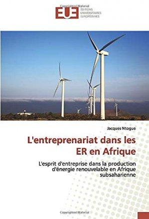 L'entreprenariat dans les ER en Afrique - editions universitaires europeennes - 9786139544592 -