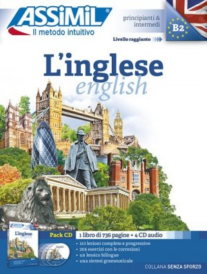 L'inglese (pack CD audio) - assimil - 9788896715864 -
