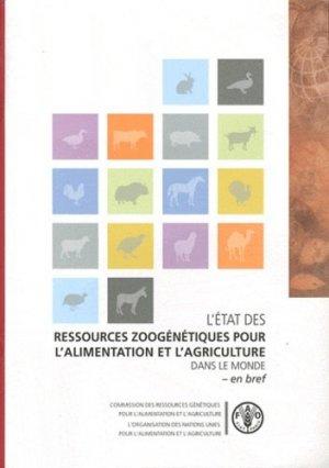 L'état des ressources zoogénétiques pour l'alimentation et l'agriculture dans le monde - Food and Agriculture Organization of the United Nations - 9789252057635 -