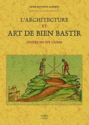 L'architecture et art de bien bastir - maxtor france - 9791020802064