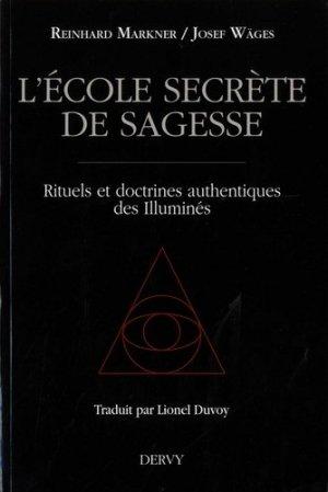 L'école secrète de sagesse - Dervy - 9791024201368 -