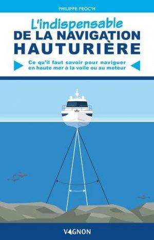 L'indispensable de la navigation hauturière - vagnon - 9791027103904 -