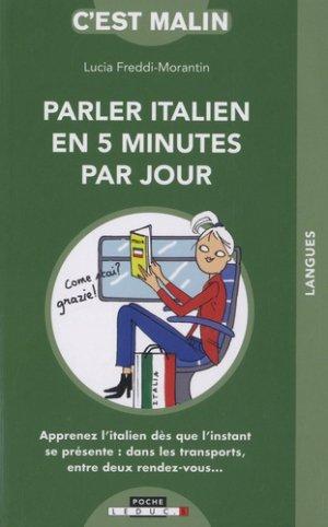 L'italien en 5 minutes par jour - leduc - 9791028514648 -