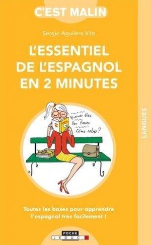 L'essentiel de l'espagnol en 2 minutes - leduc - 9791028518523 -