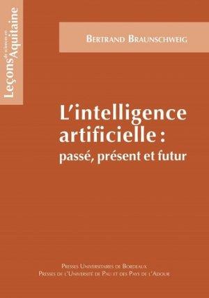 L'intelligence artificielle - presses universitaires de bordeaux - 9791030004601 -