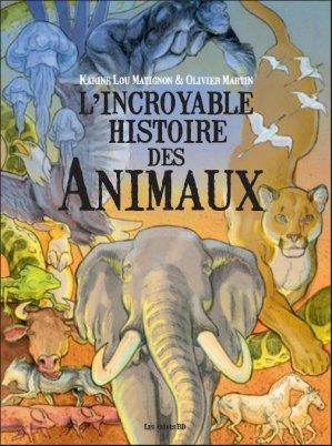 L'incroyable histoire des animaux - les arenes - 9791037500618 -