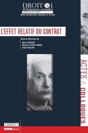 L'effet relatif du contrat - Presses universitaires juridiques de Poitiers - 9791090426443 - https://fr.calameo.com/read/005884018512581343cc0