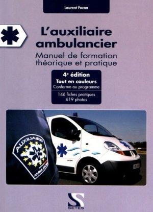 L'auxiliaire ambulancier - setes - 9791091515504 -