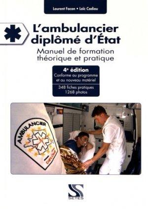L'ambulancier diplômé d'Etat - setes - 9791091515511 -