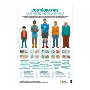 L'ostéopathie, une médecine de l'individu - tita - 9791092847024 -