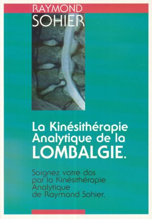La kinésithérapie Analytique de la lombalgie - kine sciences - 2223618924539 -