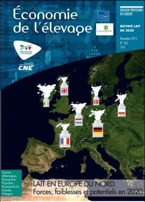Lait en Europe du nord : forces, faiblesses et potentiels en 2020 - technipel / institut de l'elevage - 2224574277028 -