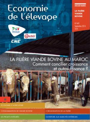 La filière viande bovine au Maroc - technipel / institut de l'elevage - 2224579483851 -