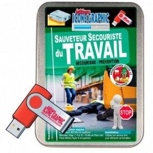 La clé USB formateur SST: sauveteur secouriste du travail - icone graphic - 2226016423109 -