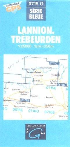 Lannion - Trébeurden - ign - 3282110715136 -