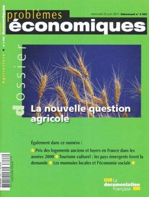 La nouvelle question agricole - la documentation francaise - 3303332030224 -
