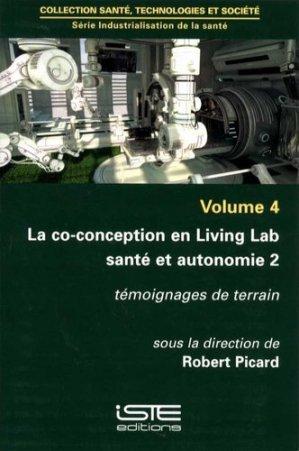 La co-conception en Living Lab santé et autonomie 2 - iste - 9781784052256 -