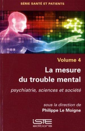 La mesure du trouble mental - iste - 9781784055257 -
