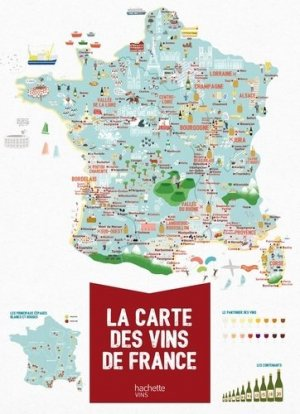 La carte des vins de France - hachette - 9782013962674 -
