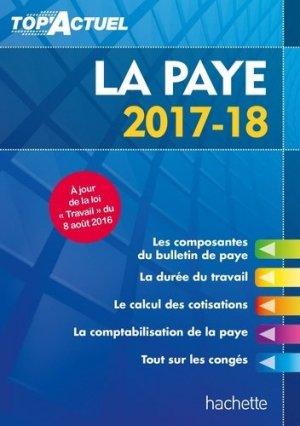 La paye - Hachette Education - 9782017012054 -