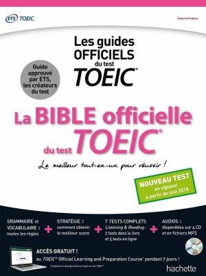 La Bible officielle du TOEIC - hachette - 9782017013679 -