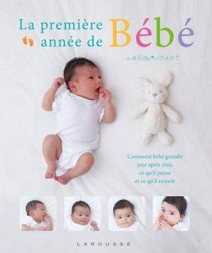 La première année de Bébé - larousse - 9782035918406 -