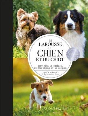 Larousse du chien et du chiot - larousse - 9782035968524 -
