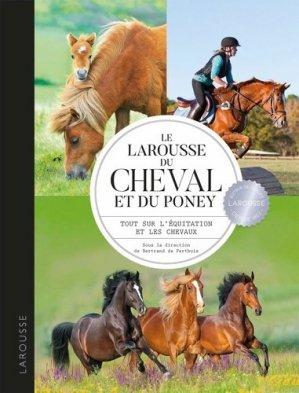 Larousse du cheval et du poney - larousse - 9782035968531 -