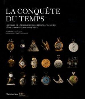 La conquête du temps - flammarion - 9782081250390 -